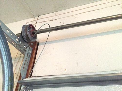 Broken Garage Door Cable cable tracks - garage door repair montvale, nj